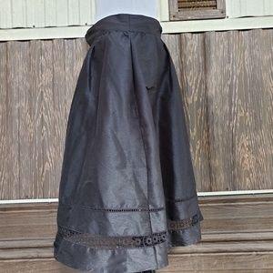 eshakti Skirts - eShakti black midi skirt size M